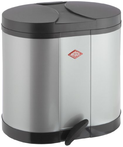 Wesco-170611-11-ko-Sammler-2x15-ltr-silber-0