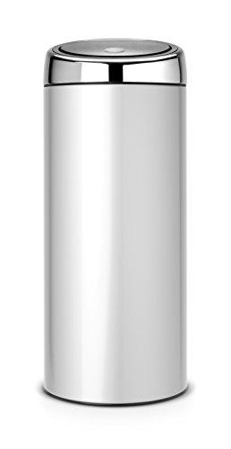 BRABANTIA-287404-Design-Abfalleimer-Touch-bin--30-L-metallic-grey-0