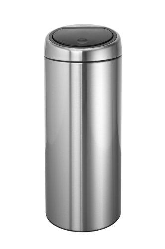 BRABANTIA-378669-Design-Abfalleimer-Touch-bin--30-L-Fingerprint-Proof-matt-steel-0