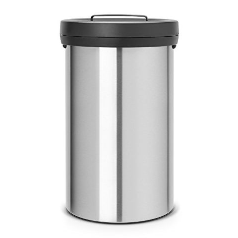 Brabantia-402043-Big-Abfalleimer-60-L-matt-steel-Fingerprint-Proof-0