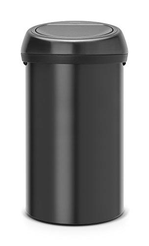 Brabantia-402562-Touch-Abfalleimer-60-L-matt-schwarz-0
