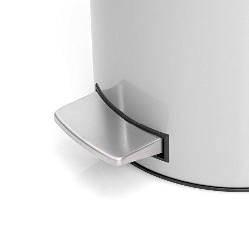 brabantia 478529 treteimer 20 l slimline mit. Black Bedroom Furniture Sets. Home Design Ideas