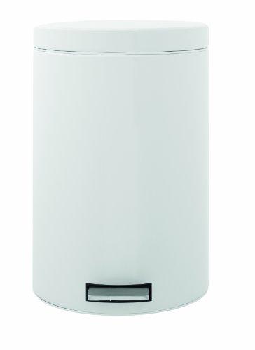 Brabantia-482724-Treteimer-20-Liter-Classic-wei-0