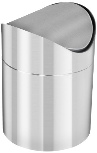 Edelstahl-Tischabfallbehlter-12-Liter-Schwingdeckel-Behlter-Tischabfalleimer-Restetopf-Schwing-Deckel-Abfall-Behlter-0