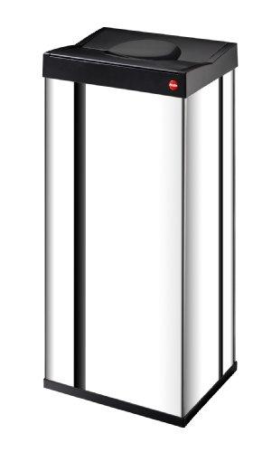 Hailo-6402-101-Groraum-Abfallbox-mit-Schwingdeckel-Big-Box-60-Edelstahl-0
