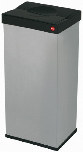 Hailo-6402-751-Groraum-Abfallbox-mit-Schwingdeckel-Big-Box-60-silber-0