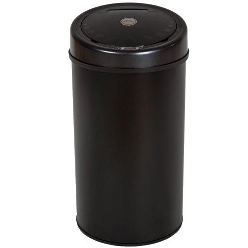 TecTake-Luxus-Sensor-Abfalleimer-Mlleimer-50-Liter-Volumen-schwarz-0