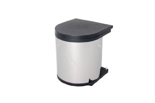 Wesco-10114-42-Einbau-Abfallsammler-11-Liter-Rund-edelstahl-0
