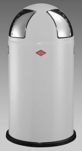 Wesco-175-861-01-Abfallsammler-Push-two-weiss-0