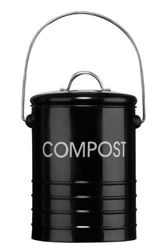 Premier-Housewares-Komposteimer-mit-Tragegriff-Schwarz-0