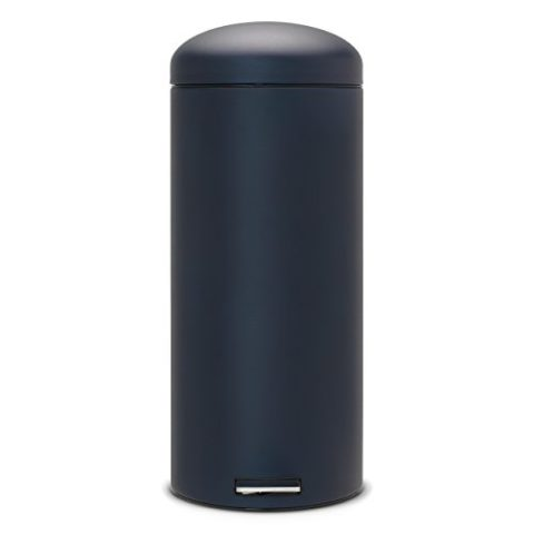 Retro-Bin-30-L-Silent-mit-Kunststoffeinsatz-Mineral-Blue-0