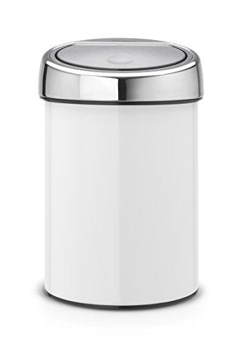 Touch-Bin-3-L-mit-Kunststoffeinsatz-White-0