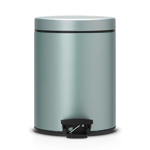 Treteimer-5-L-mit-Kunststoffeinsatz-Metallic-Mint-0