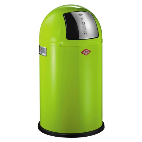 Wesco-175-531-20-Pushboy-jr-Abfallsammler-lime-green-0