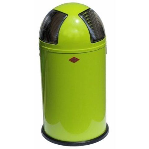 Wesco-175-861-20-Push-two-Abfallsammler-lime-green-0