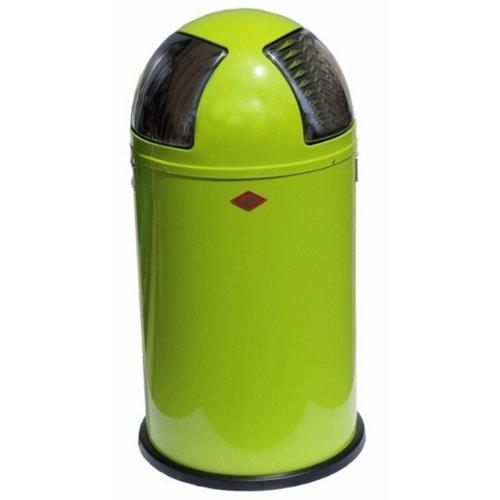 Wesco Abfallsammler Push Two : wesco 175 861 20 push two abfallsammler lime green der m lleimer onlineshop ~ Bigdaddyawards.com Haus und Dekorationen